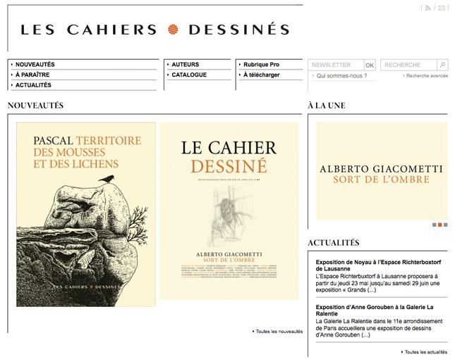 libella editions, cahiers dessines
