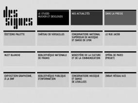Atelier Des Signes, le studio Muchir & Desclouds