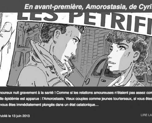 catalogue et blog pour futuropolis bandes-dessinées