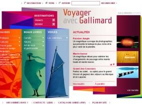 site des Guides et Beaux livres de Gallimard Loisirs
