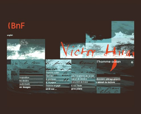 Bibliotheque nationale de france, exposition victor hugo