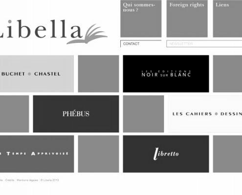 libella group, editions libella, site web pour maison d