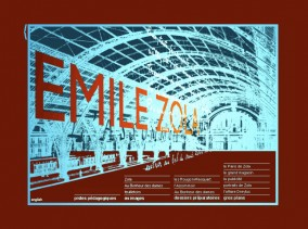 Bibliotheque nationale de france,exposition sur Emile Zola