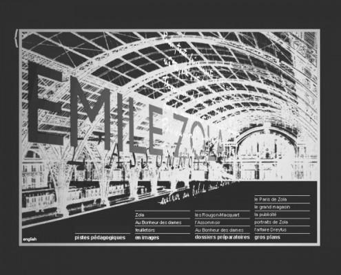 Bibliotheque nationale de france,exposition sur Emile Zola